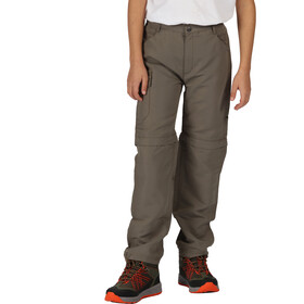 Regatta Sorcer II Pantalones Zip-Off Niños, tree top